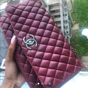 Burgundy Chanel Bag